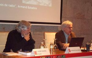 Armand Balsebre no Ateneo de Santiago