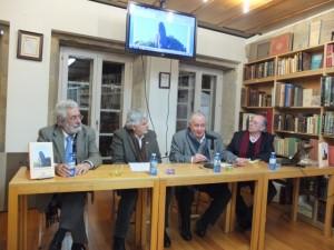 Bieito Ledo, Xosé Ramon Pousa, Xesús Alonso Montero e Eladio Rodríguez
